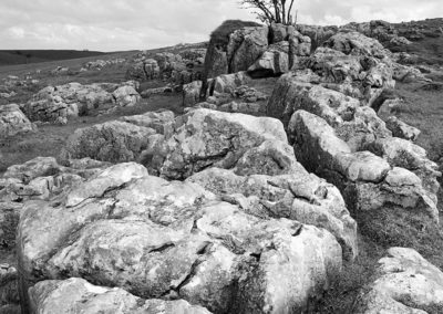Limestone Pavement, Peak District National Park.