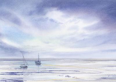 Low Tide Lindisfarne